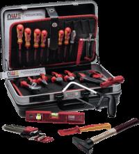 Elektriker-Werkzeugkoffer Premium, 24-tlg.