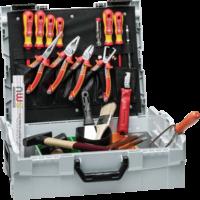 Elektriker-Werkzeugkoffer Sortimo L-BOXX, 23-tlg.